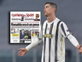 """Italiaanse media: """"Ronaldo is nu een last voor Juventus"""""""