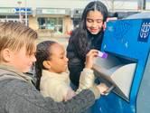 Pratende afvalbak in Tilburg moet zwerfafval voorkomen