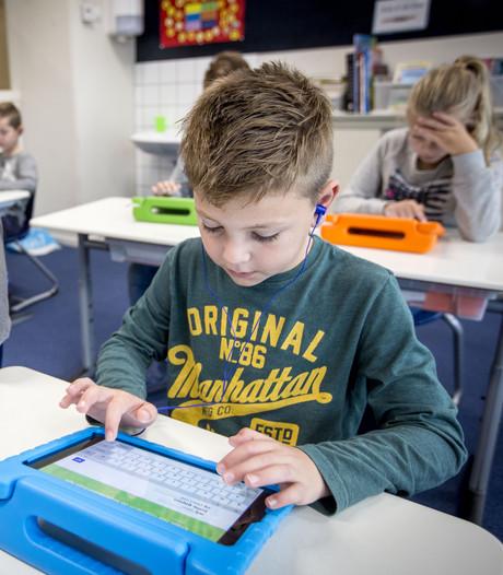 Oldenzaalse basisschool experimenteert met nieuwe digitale snufjes