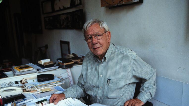 Louis van Gasteren in 1997 Beeld anp