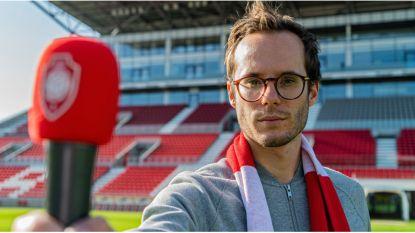 """Radiopresentator Vincent Fierens wordt nieuwe stadionomroeper Antwerp FC: """"Die club is heilig voor mij, tuurlijk zeg ik ja"""""""