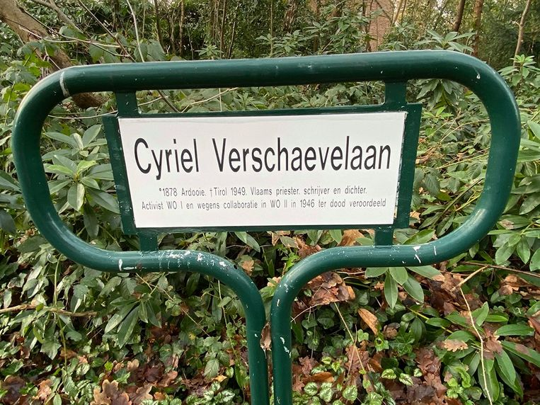 Terwijl de straatnaambordjes op woensdag 29 januari nog hernieuwd werden, besloot het gemeentebestuur de Cyriel Verschaevelaan toch te willen hernoemen.
