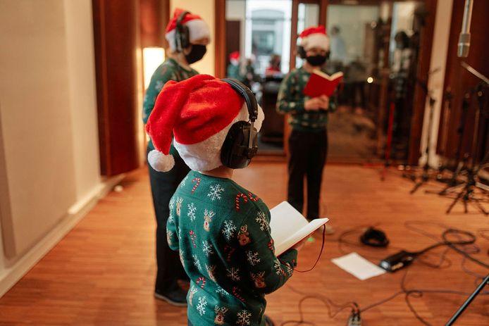 Les messages chantés seront enregistrés par la chorale des Petits Chanteurs du Collège Saint-Pierre