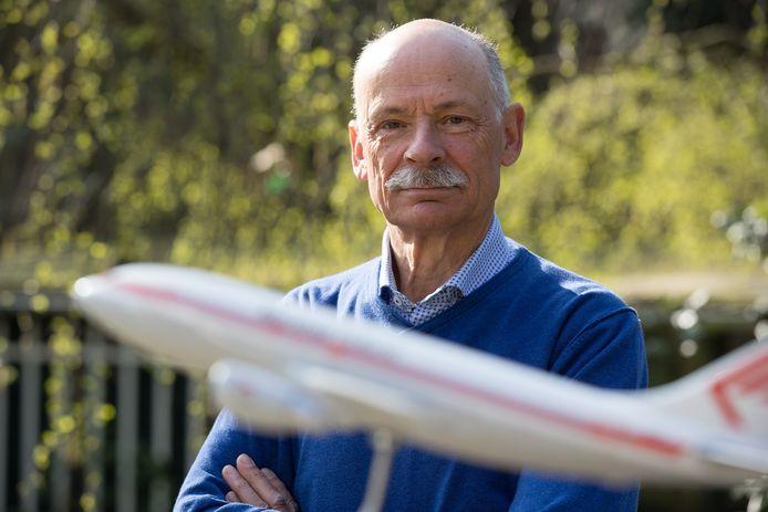 De voormalig piloot Nico van Egdom