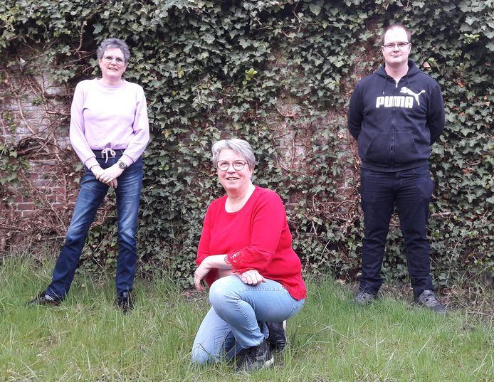 Adriënne Maas, Marion Heessels en Michael Beens (vlnr) stapten met z'n drieën op bij de SP en vormen nu de fractie Lokaal Sociaal 21.