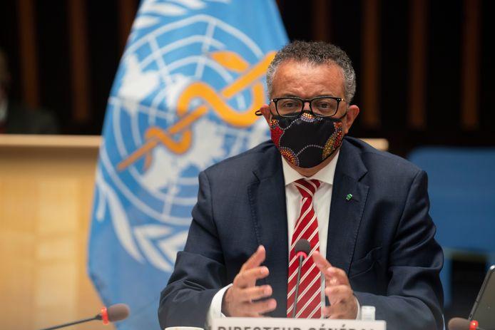 Tedros Adhanom Ghebreyesus, patron de l'Organisation mondiale de la santé (OMS).
