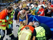Cristiano Ronaldo geeft shirt aan steward na schot op haar achterhoofd