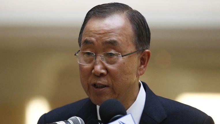 Ban Ki-Moon Beeld REUTERS
