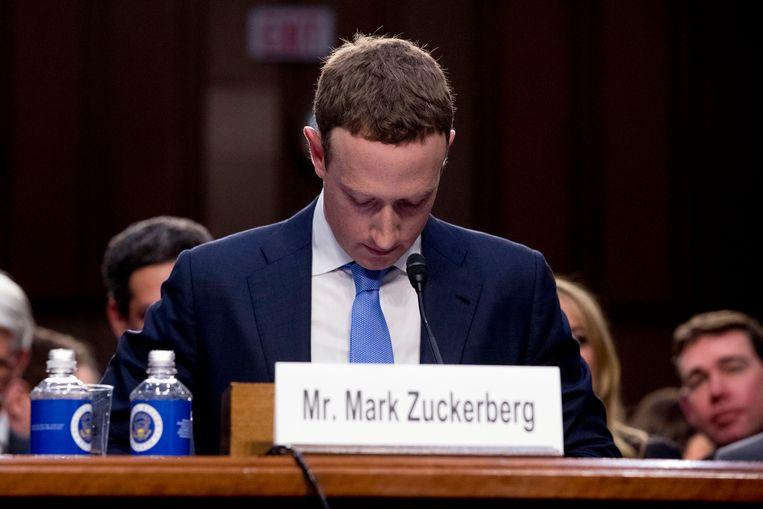 Bedrijven als Facebook en Google krijgen steeds vaker de wind van voren. Beeld AP