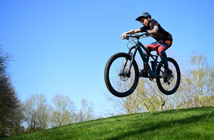 Leef je uit op de mountainbike.