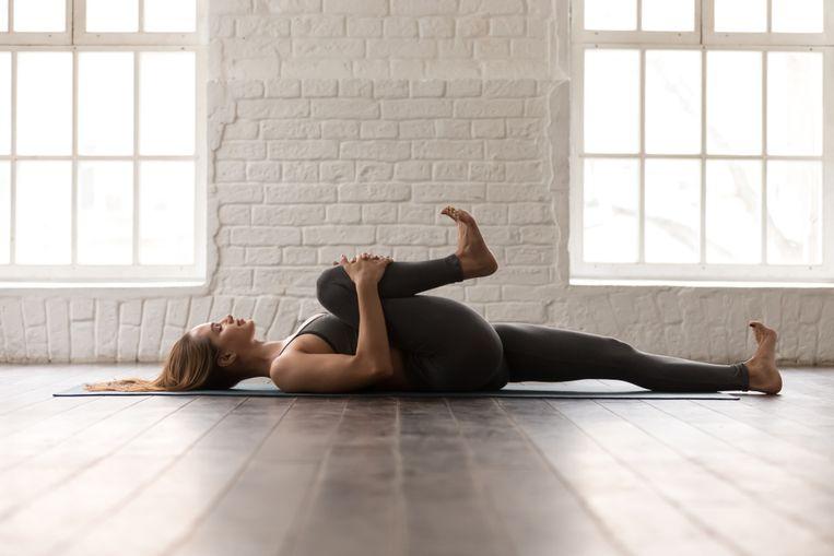 Een rustige work-out thuis draagt al bij aan een betere gezondheid.