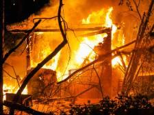 'Huisje' van dakloze man gaat dag na brandstichting opnieuw in vlammen op in Eindhoven
