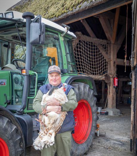 Jan Sandee, boer in ruste: 'Een ritje met de tractor, daar knap ik enorm van op'