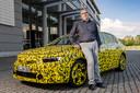 'Chassis-goeroe' Andreas Holl, als hoofd Vehicle Dynamics verantwoordelijk voor het rijgedrag van de volgende Opel Astra.