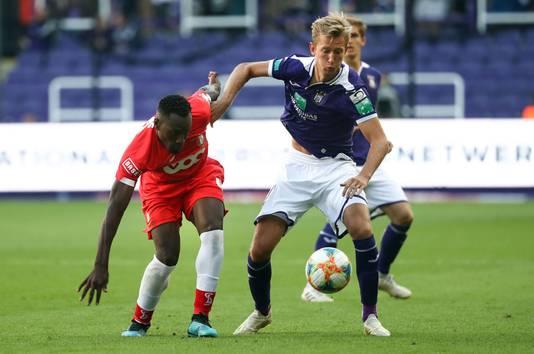 Michel Vlap verruilde Heerenveen deze zomer voor Anderlecht.