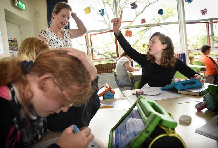 Een school in Apeldoorn. Beeld Marcel van den Bergh / de Volkskrant