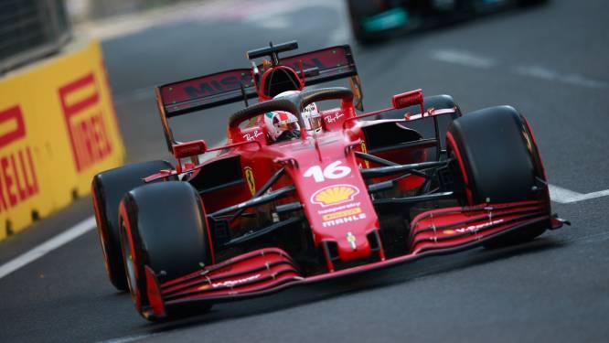 Deuxième pole consécutive pour Charles Leclerc au GP d'Azerbaïdjan
