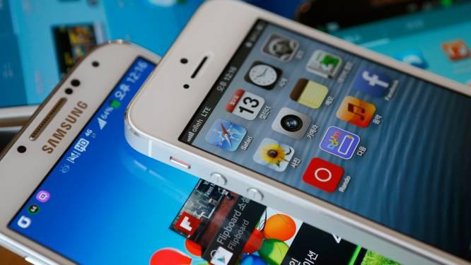 Apple en Samsung ruziën over patenten