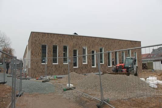 Het nieuwe schoolgebouw van GTSM.