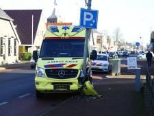 Ambulance onderweg naar reanimatie in Oldebroek krijgt zelf ongeluk