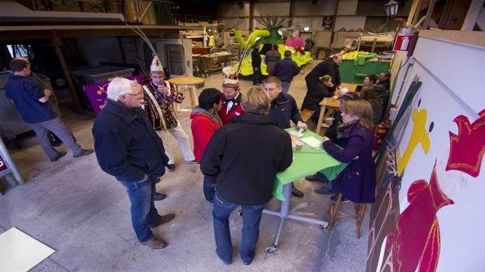 De Toetenburgers ontvingen wagenbouwers. Foto: Bart Harmsen