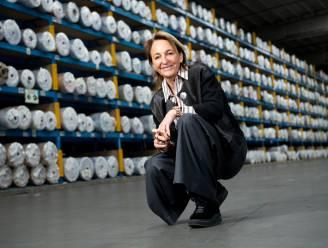 """Michèle Sioen (55) wil haar bedrijf van de beurs: """"We waren niet zo'n sexy aandeel"""""""