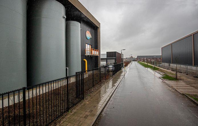 De biomassacentrale aan Geerweg in Ede.