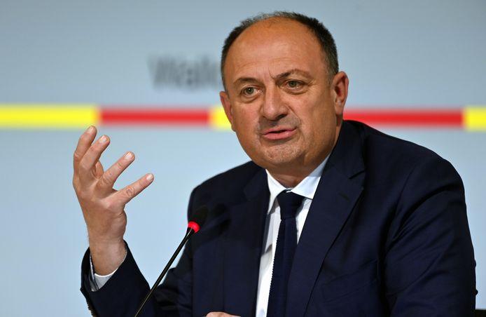 Willy Borsus, ministre wallon de l'Économie.