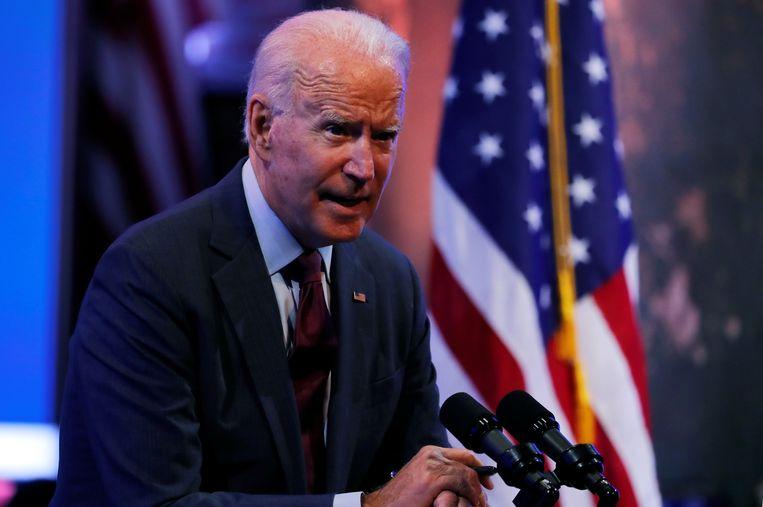 Democratisch presidentskandidaat Joe Biden. Beeld REUTERS
