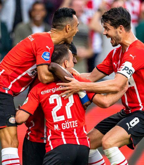 PSV met één been in laatste CL-voorronde na simpele zege op pover Midtjylland