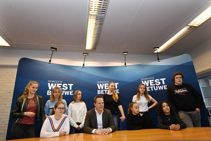 De jongerenraad van West Betuwe