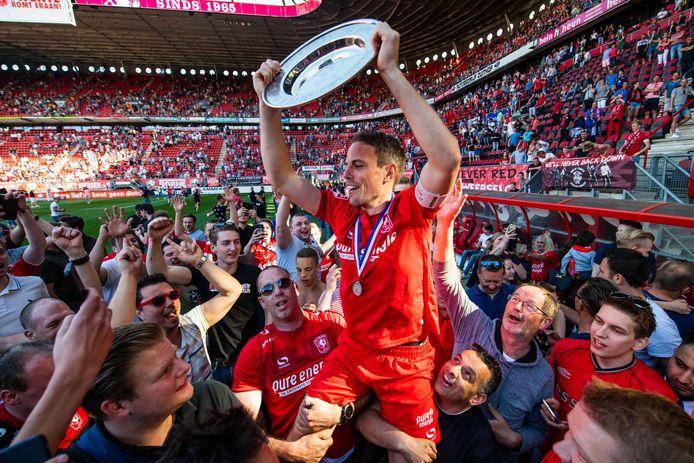 De terugkeer van Wout Brama werd met het behalen van het kampioenschap meteen een succes.