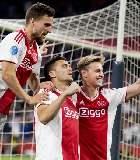 Titel Ajax weer beetje dichterbij na zege op Vitesse