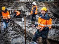 Archeologen zoeken in Dordrecht naar villa, maar komen terug met puntgave munten van Romeinse keizers