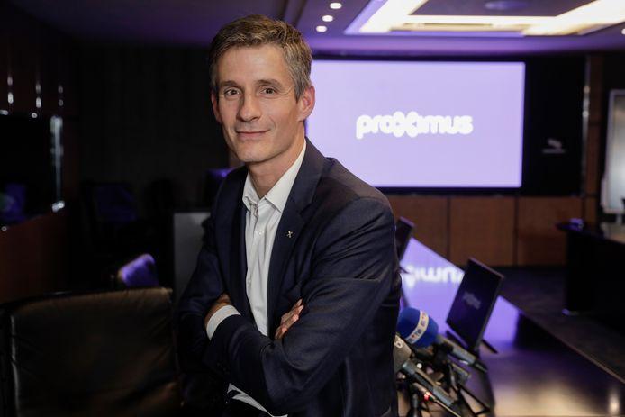 Guillaume Boutin, CEO de Proximus.