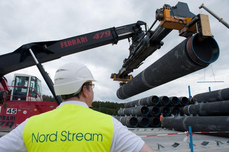 Nord Stream. Beeld EPA