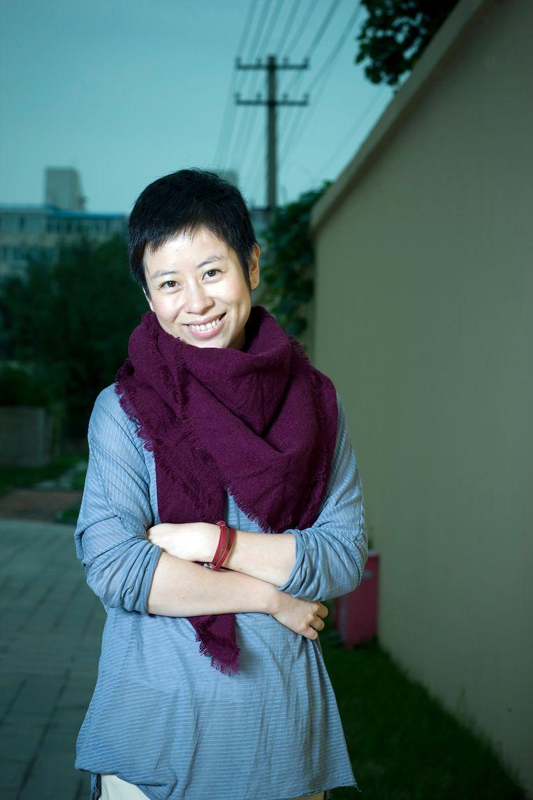 Liu Yu: 'Het censureren van liberale intellectuelen gaat in China subtiel. Je wordt niet gedood of ontslagen, maar ze nemen je je podia af.' Beeld RV