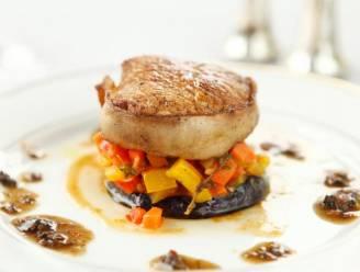 Kalfsvlees met gekonfijte aubergine en paprika maken