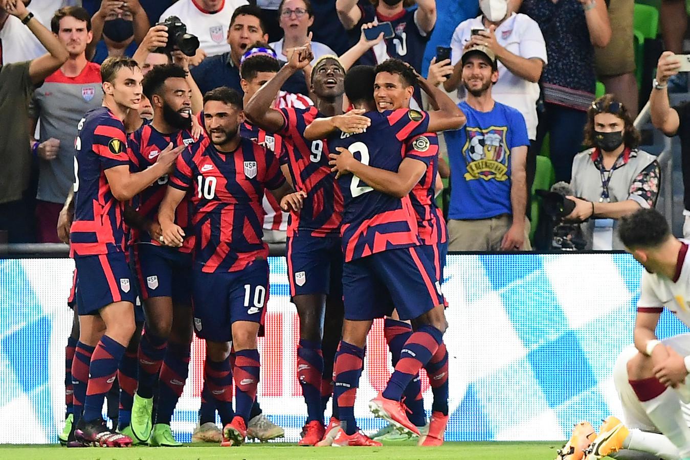 De Amerikaanse voetballers rekenen af met Qatar.