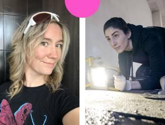 """Jessica en Jolien, vrouwen in de bouw: """"De verbazing is groot als we de werf oplopen"""""""