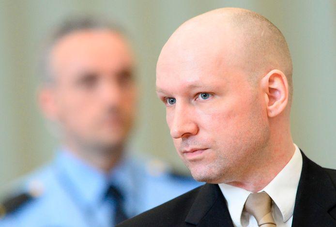 Anders Breivik op archiefbeeld.