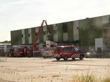 Brand bij transportbedrijf in Someren