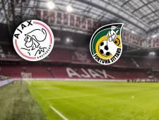 LIVE | Koploper Ajax zonder Tagliafico en Tadic tegen hekkensluiter Fortuna