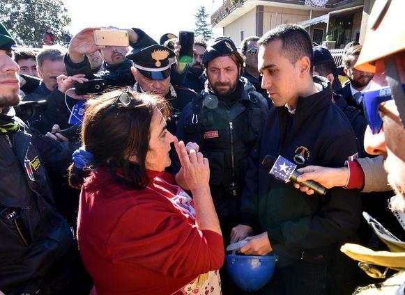 Vicepremier Luigi Di Maio bezoekt vandaag de getroffen regio.