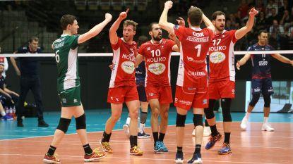 Maaseik laat geen steek vallen en wint reguliere competitie in het volleybal