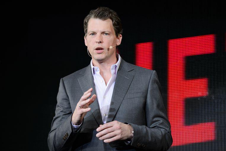 Greg Peters,  chief product officer bij Netflix. Beeld Bloomberg via Getty Images