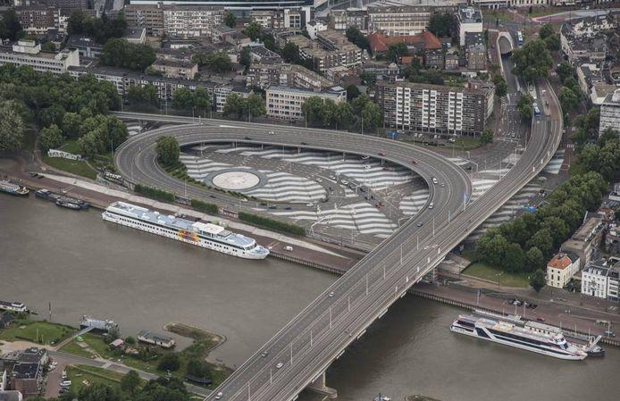 Het Roermondsplein in Arnhem.