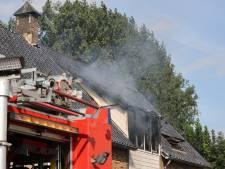 Flinke rookoverlast door brand in Rijswijk