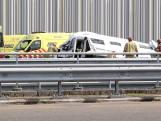 Twee personen zwaargewond bij ongeluk op de A2