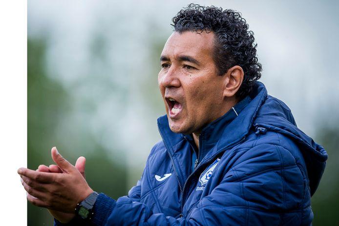 Ricardo Moniz, hier als coach van FC Eindhoven.